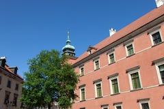 华沙 皇家的城堡 免版税图库摄影