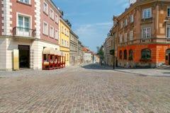 华沙 老城市 免版税库存照片