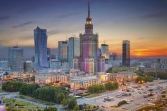 华沙 免版税库存图片