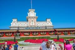 华特・迪士尼世界的不可思议的王国铁路办公室 免版税图库摄影