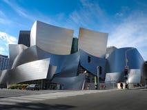 华特・迪士尼音乐厅在洛杉矶,加州,美国 免版税库存照片