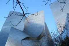 华特・迪士尼音乐厅洛杉矶,加州 库存图片