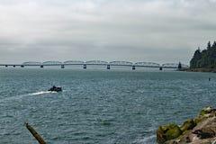 华盛顿俄勒冈桥梁 免版税图库摄影