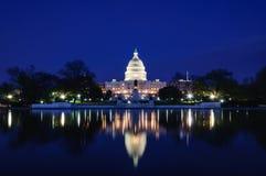 华盛顿国会大厦,华盛顿特区,u S A 免版税图库摄影