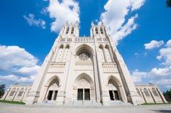 华盛顿国民大教堂 图库摄影