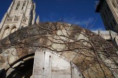 华盛顿国民大教堂 免版税库存图片