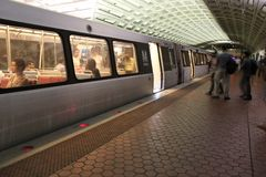 华盛顿地铁 免版税库存图片
