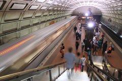 华盛顿地铁 库存照片