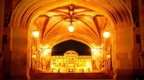 华盛顿大学 免版税图库摄影