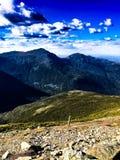 华盛顿山风景  免版税库存图片