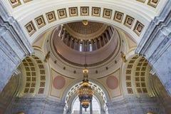 华盛顿州国会大厦修造圆形建筑 库存照片