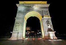 华盛顿广场曲拱在纽约 免版税库存照片