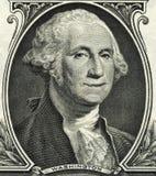 华盛顿微笑的美金 库存照片