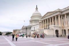 华盛顿游人 免版税图库摄影