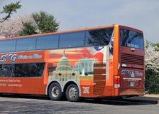 华盛顿游览车 免版税库存照片