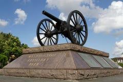 华盛顿火炮枪 图库摄影