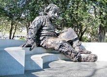 华盛顿爱因斯坦雕塑2010年 库存照片
