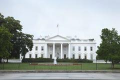 华盛顿特区北边的白宫 免版税库存图片