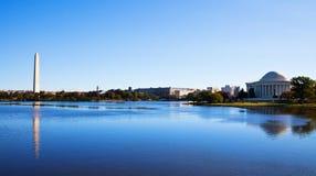 华盛顿特区地平线 免版税库存照片