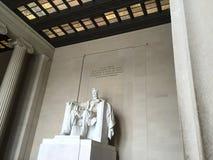 华盛顿特区林肯纪念堂 免版税库存图片