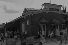 华盛顿特区的乔治城在下午 免版税库存图片