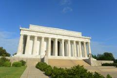 华盛顿特区的林肯纪念堂,美国 免版税库存图片