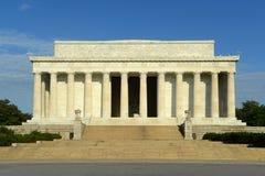 华盛顿特区的林肯纪念堂,美国 库存照片