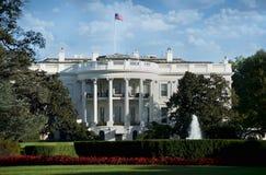 华盛顿特区的白宫。 免版税库存图片