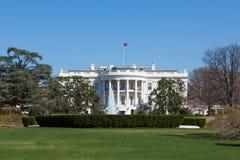 华盛顿特区的白宫 免版税库存照片