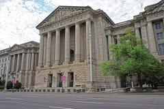 华盛顿特区的美国安德鲁W梅隆观众席 库存图片