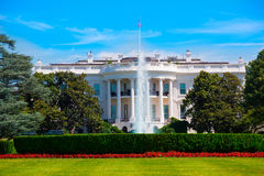 华盛顿特区的美国白宫 图库摄影