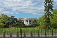 华盛顿特区的美国白宫 免版税库存图片