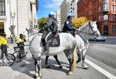 华盛顿特区,公园警察 图库摄影