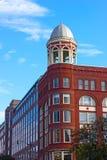 华盛顿特区,美国历史和现代建筑学  库存图片