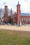 华盛顿特区,美国- 2006年1月31日:城堡,第一Smithso 免版税库存照片