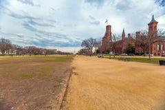 华盛顿特区,美国- 2006年1月31日:城堡,第一Smithso 库存图片