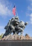 华盛顿特区,美国-硫磺岛雕象 免版税库存图片
