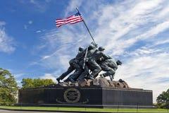 华盛顿特区,美国-硫磺岛雕象 库存图片