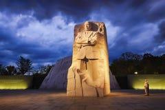 华盛顿特区, -对马丁路德金博士的纪念品 免版税库存图片