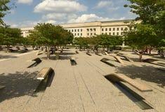 华盛顿特区, - 2018年6月01日:五角大楼纪念品以1为特色 图库摄影