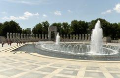 华盛顿特区, - 2018年6月01日:在洗涤的二战纪念品 图库摄影
