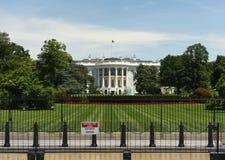 华盛顿特区, - 2018年6月02日:白宫,华盛顿特区 图库摄影