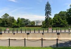 华盛顿特区, - 2018年6月02日:白宫,华盛顿特区 免版税库存图片