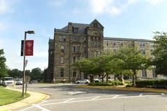 华盛顿特区, - 2018年6月01日:美国的天主教大学 免版税库存照片