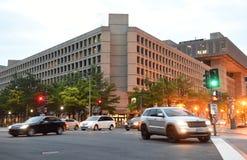 华盛顿特区, - 2018年6月02日:FBI, Investig联邦局 免版税库存照片