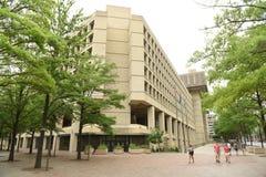 华盛顿特区, - 2018年6月02日:FBI, Investig联邦局 免版税图库摄影