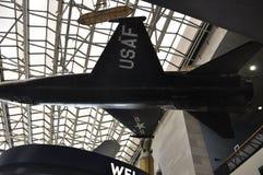 华盛顿特区, 8月5日:军用飞机在从华盛顿特区的Smithonian国家宇航博物馆在美国 库存图片