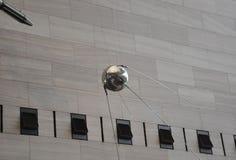 华盛顿特区, 8月5日:卫星在从华盛顿特区的Smithonian国家宇航博物馆在美国 免版税库存图片