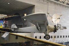 华盛顿特区, 8月5日:圣路易斯精神飞机在从华盛顿特区的Smithonian国家宇航博物馆在美国 图库摄影