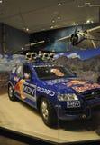 华盛顿特区, 8月5日:汽车在从华盛顿特区的Smithonian国家宇航博物馆在美国 免版税图库摄影